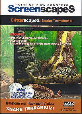 ScreenscapeS: SNAKE TERRARIUM 2 - VIRTUAL HALLOWEEN SPECIAL EFFECTS! COBRA! NEW!](Virtual Halloween)