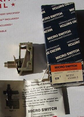 New Honeywell Micro Switch Mc2711 An3168-2 Limit Switch Snap Action