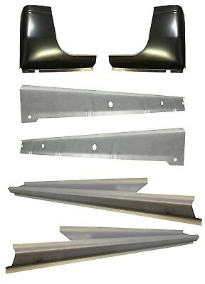 1998-01 DODGE RAM P/U 4DR QUAD CAB INNER, OUTER ROCKER PANELS & CAB CORNER KIT