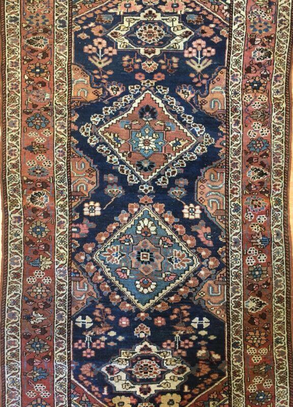 Tremendous Tribal - 1910s Antique Kurdish Rug - Oriental Carpet - 3.10 X 6.6 Ft.