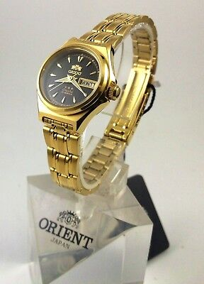New  Orient   Gold  Tone Automatic Watch  Women's FNQ1S002B