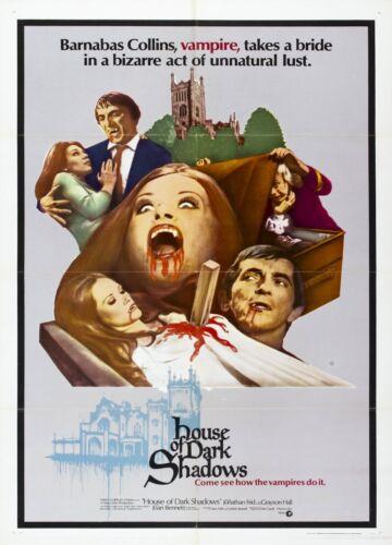 House of Dark Shadows Movie POSTER (1970)
