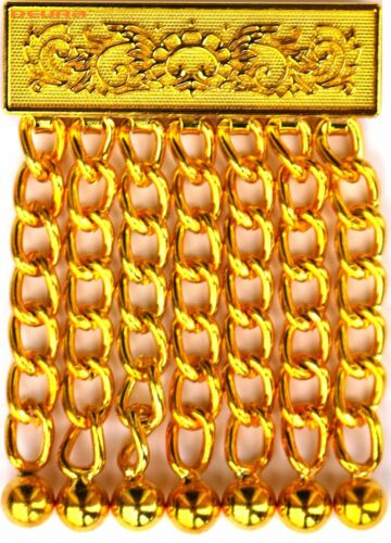 MASONIC REGALIA Metal Apron GOLDEN Tassel Gilt style