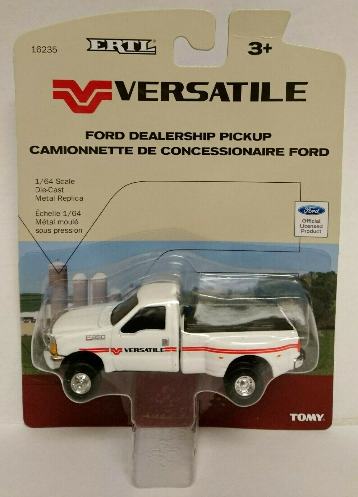ERTL Versatile Dealership Pickup Ford F-350 Dually NIP TOMY - 1 64 Scale NICE!