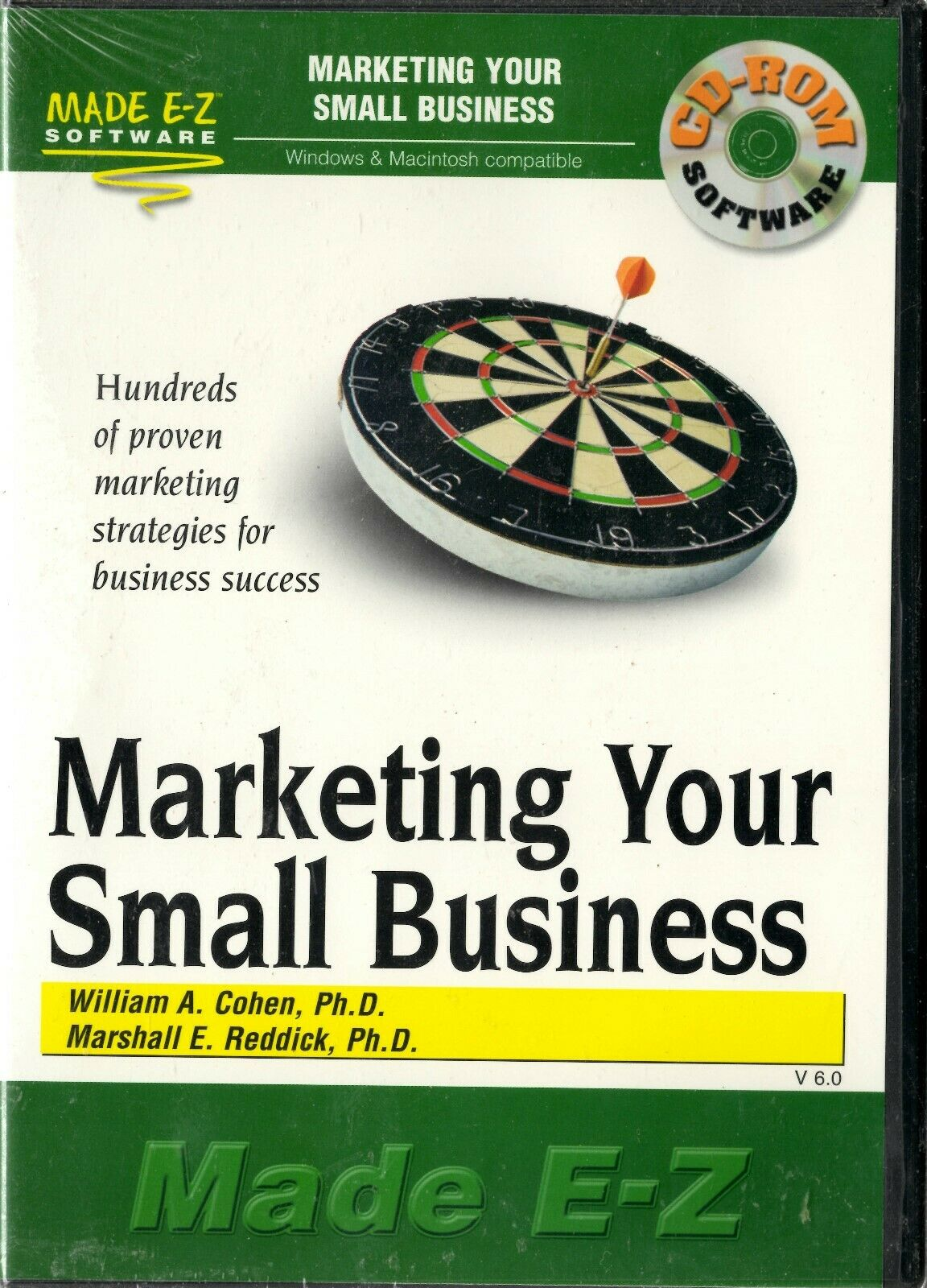 Made E-Z Software - Marketing Your Small Business - CD-ROM 2001