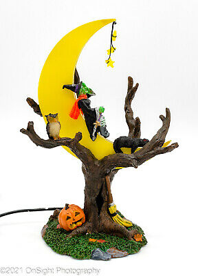 """2007 Lemax Spooky Town """"Witch's R & R"""" Retired ~ Rare / HTF ~ EXC in Box  #74591"""