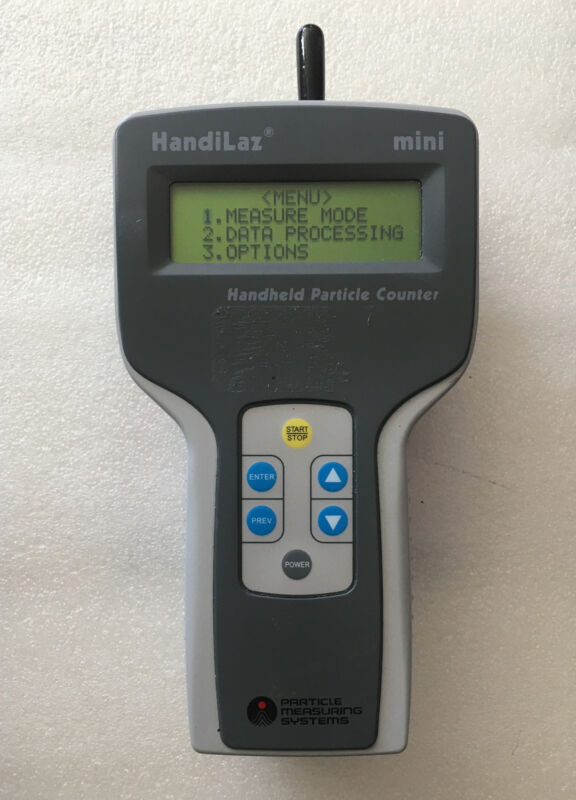 Particle Measuring Systems Handilaz Mini Handheld Particle Counter