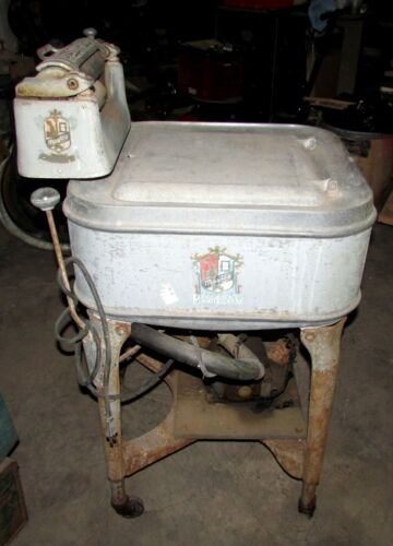 Antique Maytag Ringer Washing Machine Gyratator Early 1930