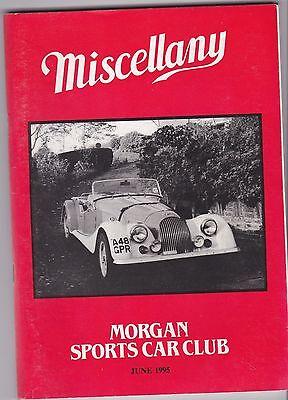 MISCELLANY MORGAN SPORTS CAR CLUB MAGAZINE JUNE 1995 POST FREE