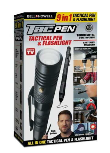 Bell + Howell Tac Pen Tactical Pen, Flashlight, and Multi-Tool - As Seen on TV!