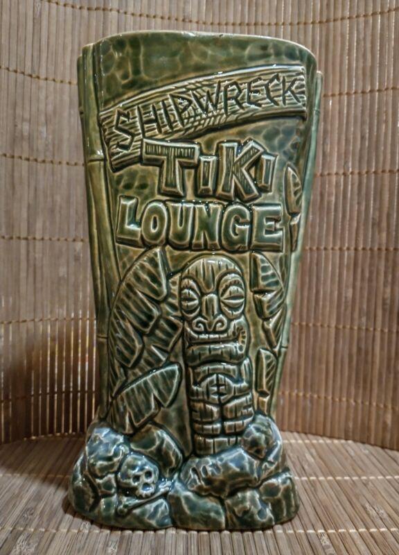 2010 Shipwreck Tiki Lounge Mug by Crazy Al