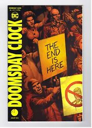 DOOMSDAY CLOCK #1 FIRST PRINT REGULAR COVER 1ST APP DC COMICS WATCHMEN HBO SHOW