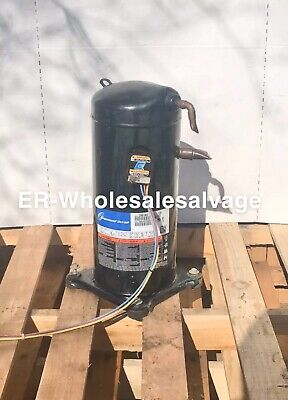 Untested 5-ton Copeland Zr61kc-tfd-130 3ph 62000btu R-22 Scroll Compressor