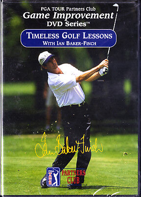 Pga Tour Partners Club  Timeless Golf Lessons Ian Baker   Finch New Dvd