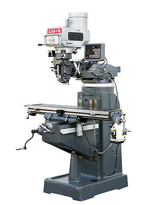 Precision Vertical Turret Milling Machine Model Clark B3vd