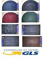 Tappeto Tappetino Zerbino Basso Da Esterno Disegni Vari Modelli Welcome Offerta -  - ebay.it