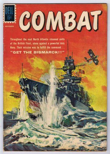Combat #1 Good 1961 Complete Stories Silver Age Dell Comics