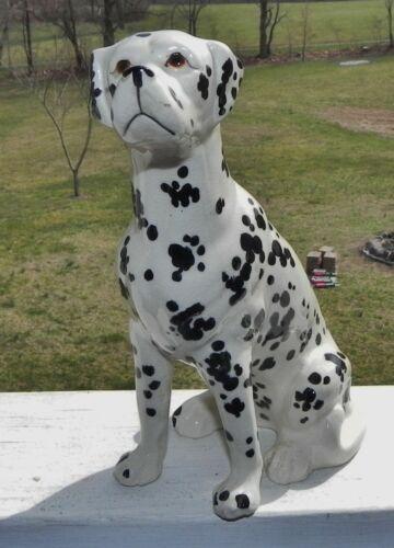 Vintage Dalmation Dog Figurine 3 Clover  Made in Japan