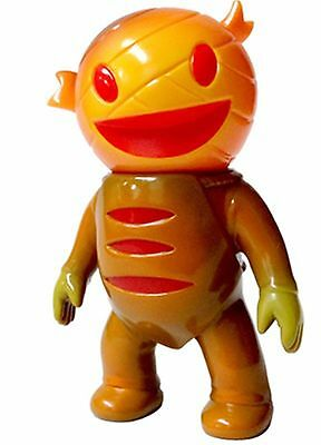 Mummy Boy Seijin   Brown   Orange   Super7   4  Tall Figure   Brian Flynn