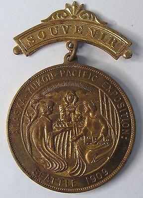 U.S GOVERNMENT BUILDING Medal 1909 AYP AYPE  Seattle Alaska Yukon Pacific Expos