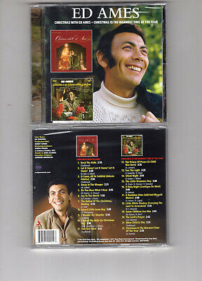 ED AMES - Christmas With/Christmas Is The Warmest Time Of The Year (cd 2011) NEW ()