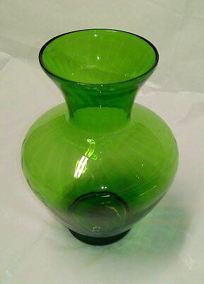 Vintage Emerald Green Vase
