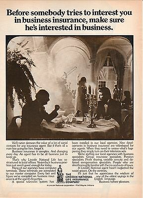 1975 Lincoln National Life Insurance Advertisement