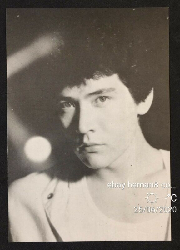old 費翔 famous Chinese singer Fei Xiang picture card