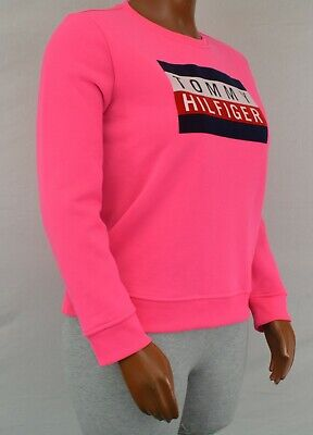 NWT Tommy Hilfiger Women's Long Sleeve  Pullover Sweater Sweatshirt L