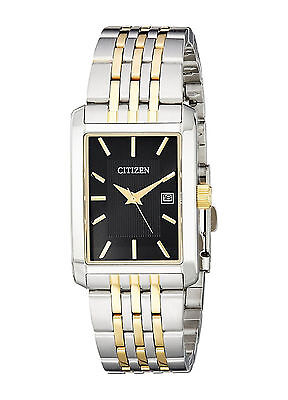 Citizen Reloj Crystal Gold Oro Plata Silver Bracelet Watch Hombre Pulsera Man