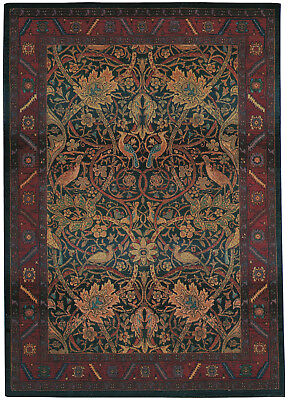 William Morris Style Arts & Crafts Mission Area Rug **FREE SHIPPING** ()