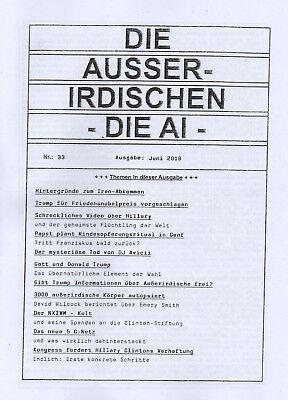 DIE AI - Die Außerirdischen HEFT 33 - Der NXIVM Kult - ( wie Jan van Helsing )