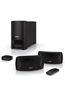 Bose Cinemate Series II digital home theatre system with stands