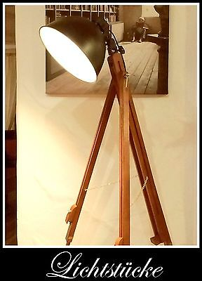 Tripod Stativ Steh Lampe - Leuchte mit dimmb. LED und Fernbedienung Bauhaus