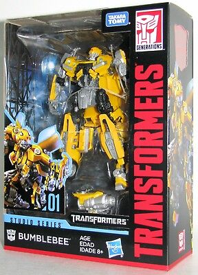 Transformers Hasbro Takara Tomy Studio Series  01 Deluxe Bumblebee