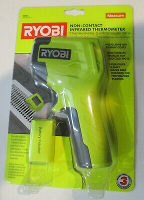 Ryobi Non Contact Infrared Thermometer Laser Guide Model Ir002 Brand New Sealed