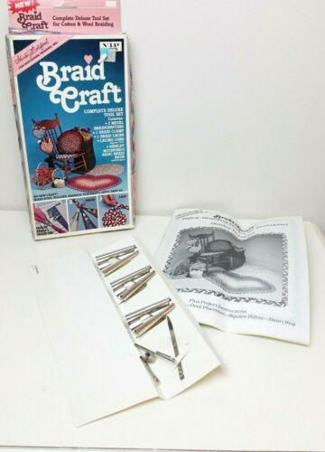Shirley Botsford Braid Craft Rug Braiding Kit Tools Needle Clamp Pattern Book