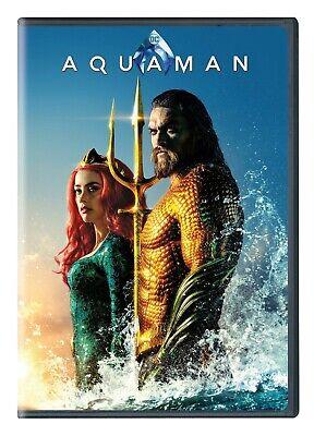 Aquaman (DVD, 2-Disc Set 2019 -DC Franchise) New & Sealed FREE Ship!