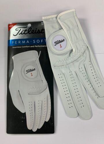 2021 Titleist Perma Soft Golf Gloves Men & Women - Choose a Size! - RH&LH - New