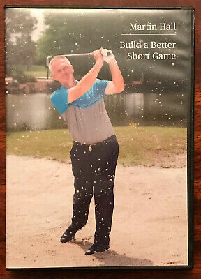 How to Build a Better Short Game Golf 3 DVD set by Martin