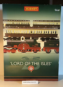 Hornby ~ R2560 - THE LORD OF THE ISLES TRAIN PACK - USED BOXED RARE LIMITED ED.