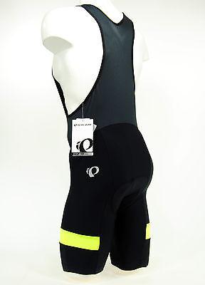 Pearl Izumi 2017 Escape Quest Splice Bike Cycling Bib Shorts Black/Yellow,Medium