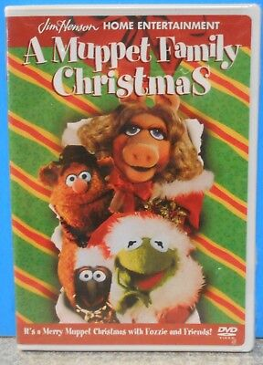 A Muppet Kind Christmas (DVD 2001) RARE BRAND NEW OFFICIAL WHITE CASE W SEALS