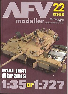 AFV Modeller 22 - Tiger M1A1 Abrams Tamiya Panzer Stug Crusader Russian T-26  for sale  Show Low