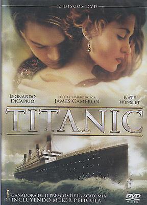 Dvd   Titanic New Leonardo Dicaprio Kate Winslet 2 Disc Set Fast Shipping