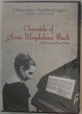Chronicle of Anna Magdalena Bach DVD NEW Out-of-Print New Yorker Video