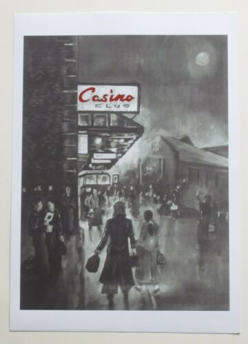 """Northern Soul; Wigan Casino; """"Anticipation II""""; Limited Edition A4 print"""