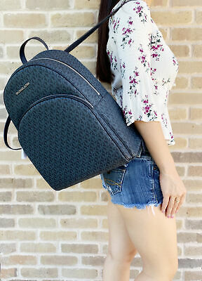 Michael Kors Large Abbey Backpack Admiral Blue (Blue Michael)