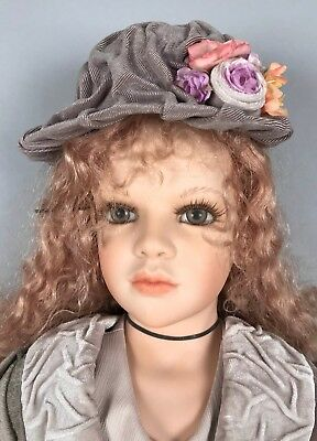 "Zawieruszynski Hand Made Porcelain Doll - Emilia 32"" Tall - LE 16/25 2000 for sale  Tuckerton"
