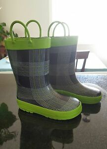 Toddler Boys Size 8 Gum/Rain Boots, Winter Boots